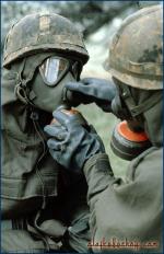 ABC-Schutzmaske, AMF-Übung Ardent Ground, Baumholder.