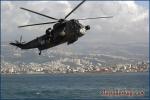 Helikopter vor Beirut, UNIFIL.