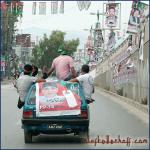 Wahlkampagne, Rawalpindi (Pakistan) 2013.