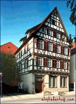 Fachwerkhaus, Nagold.