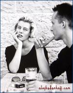 Portrait eines Paares.