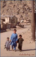 Drei Buben, Qarta-ye-pandsch (Kabul).