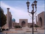 Registan, Samarkand (Usbekistan).