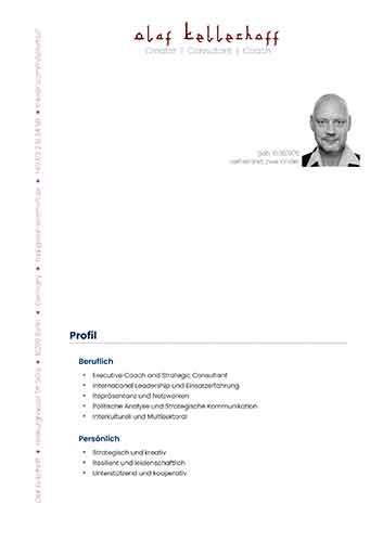 2021 Olaf Kellerhoff - Ausführlicher Lebenslauf